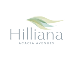 A logo of Hilliana acadia avenue